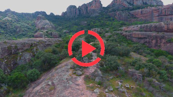 Mountain landscape |South of France FullHD