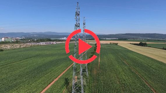 Over Land Power Line Visual Inspection by Drone and OnScreen check