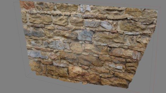 Wall 3D modelization